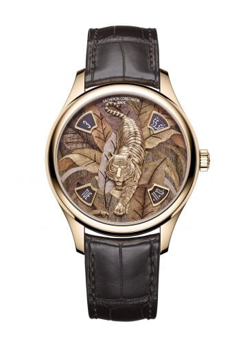 Les Cabinotiers Majestic Tiger Pink Gold / Yellow Wood