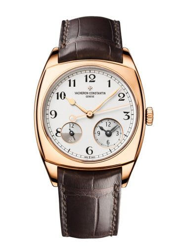 Harmony Dual Time Pink Gold / Black Numerals
