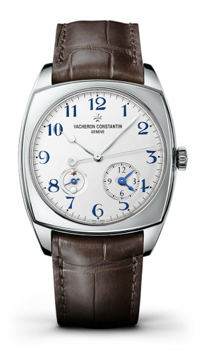 Harmony Dual Time White Gold / Blue Numerals
