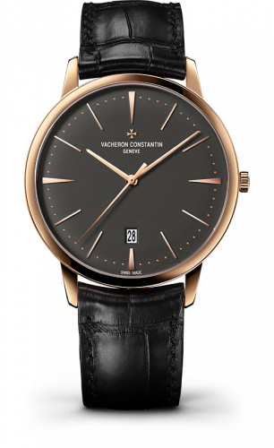Patrimony Contemporaine Self-Winding Pink Gold/ Anthracite