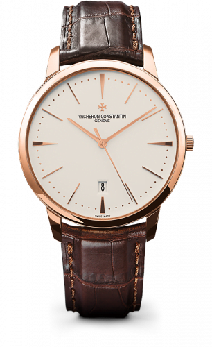 Patrimony Contemporaine Self-Winding Pink Gold / Silver