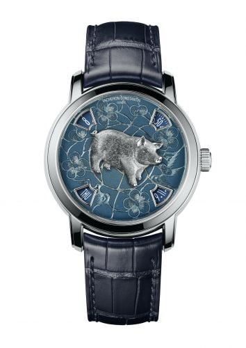 Métiers d'Art The Legend of the Chinese Zodiac Year of the Pig Platinum