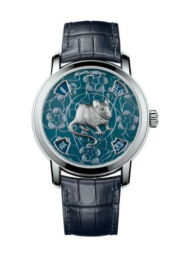 Métiers d'Art The Legend of the Chinese Zodiac Year of the Rat Platinum