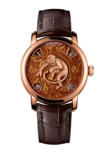 Métiers d'Art The Legend of the Chinese Zodiac Year of the Monkey Pink Gold