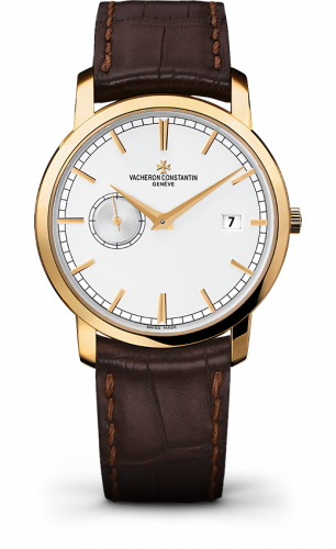 Traditionnelle Self-Winding Small Seconds Yellow Gold / Silver