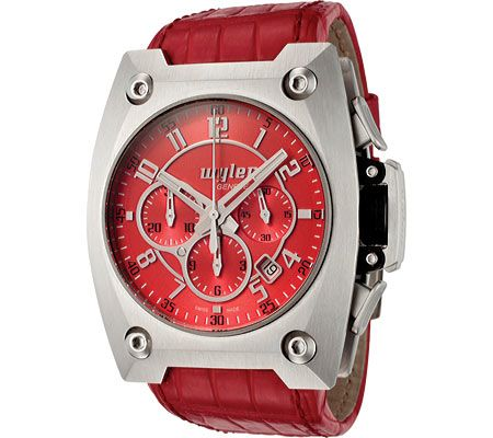 Code-R Chronograph Red Dial