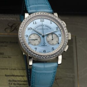 1815 Chronograph Diamond / MOP blue