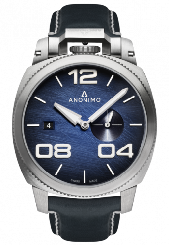 Militare Automatic Stainless Steel / Blue / Leather