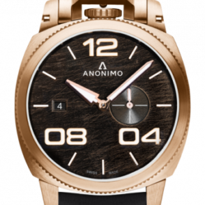 Militare Automatic Bronze / Black / Leather