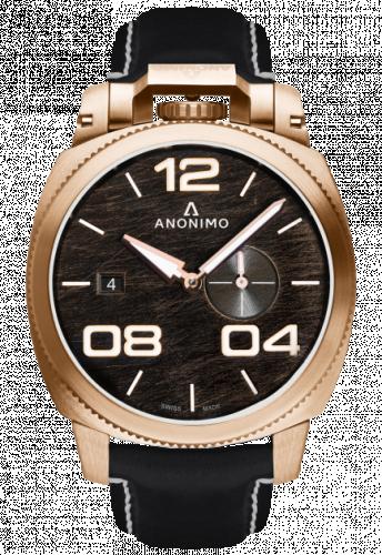 Militare Automatic Bronze / Black / Leather