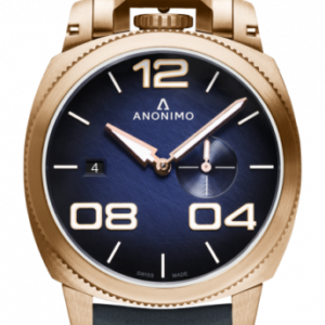 Militare Automatic Bronze / Blue / Leather