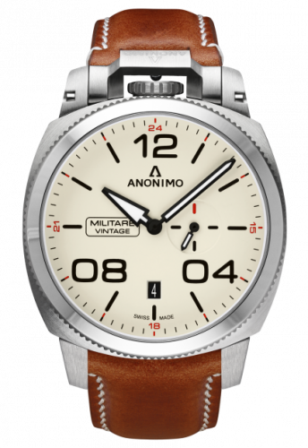 Militare Automatic Stainless Steel / Cream / Leather