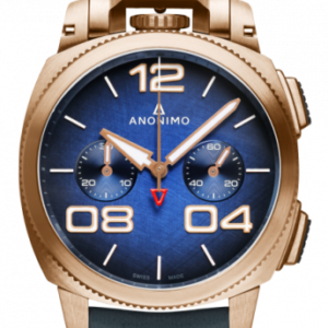 Militare Chrono Bronze / Blue / Leather