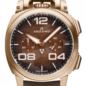 Militare Automatic Bronze / Brown Camouflage / Leather
