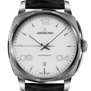 Epurato Automatic Stainless Steel / White / Leather