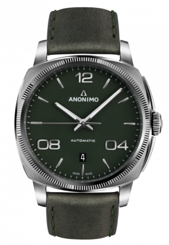 Epurato Automatic Stainless Steel / Green / Leather