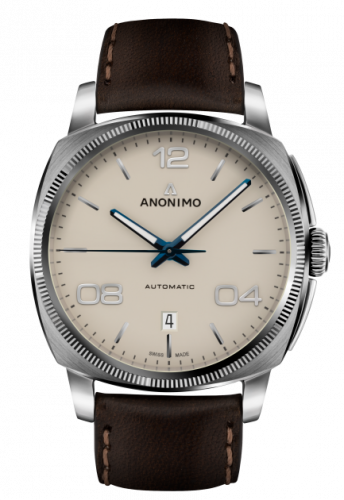 Epurato Automatic Stainless Steel / Cream / Leather