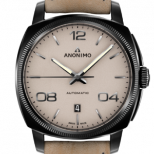 Epurato Automatic Stainless Steel / DLC / Sand / Leather