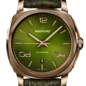 Epurato Automatic Bronze / Green / Leather
