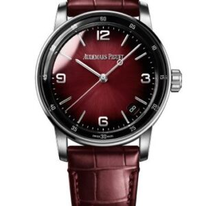 CODE 11.59 Automatic White Gold / Burgundy
