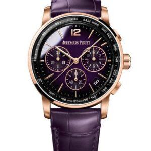 CODE 11.59 Chronograph Selfwinding Pink Gold / Purple