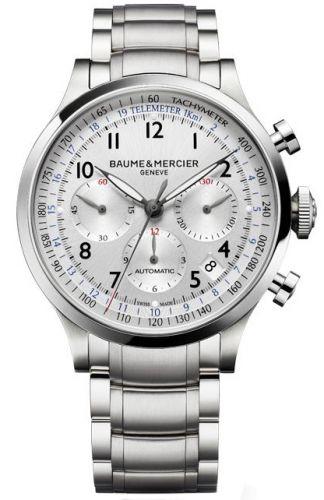 Capeland Chronograph 44 Silver / Bracelet
