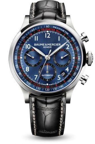 Capeland Chronograph 44 Blue / Alligator