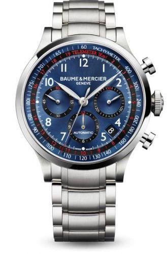 Capeland Chronograph 44 Blue / Bracelet