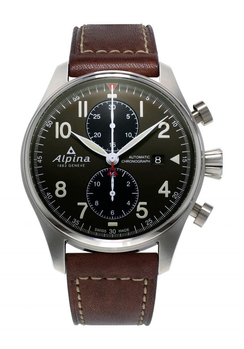 Startimer Pilot Automatic Chronograph Date