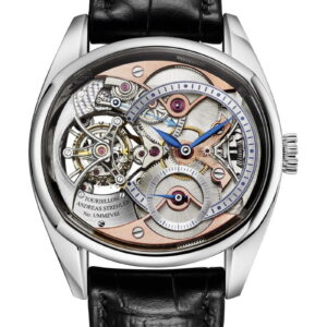 Trans-Axial Remontoir Tourbillon Platinum