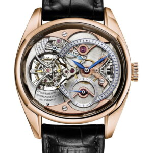 Trans-Axial Remontoir Tourbillon 18K Red Gold