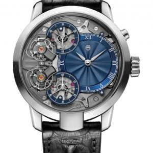 Mirrored Force Resonance Guilloché Dial