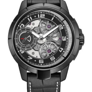 Edge Double Barrel stainless steel black PVD