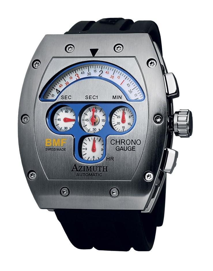 CHRONO GAUGE BMF (white dial)