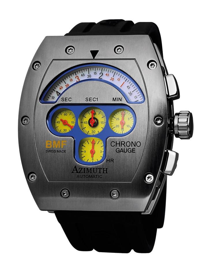 CHRONO GAUGE BMF (yellow dial)
