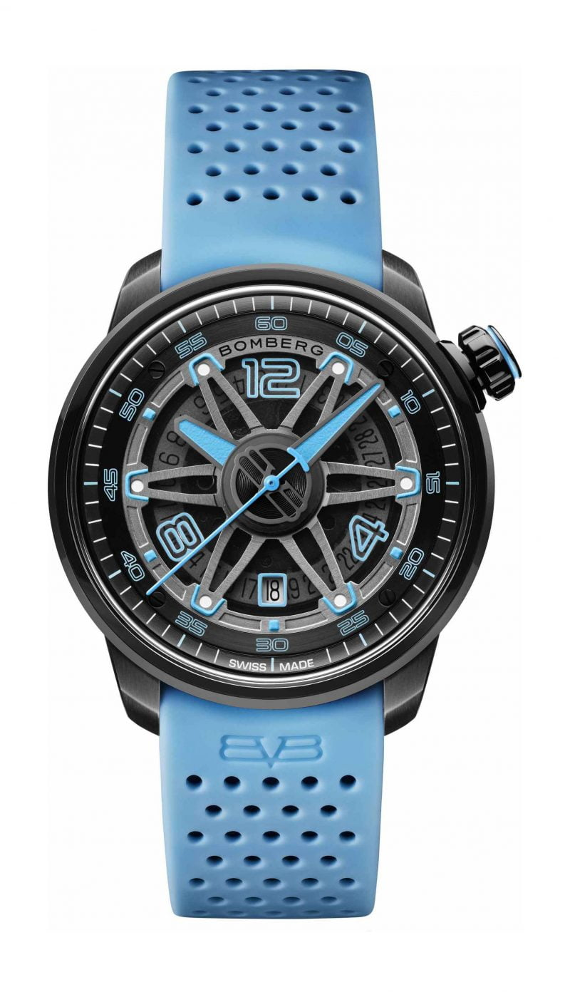 BB-01 AUTOMATIC BLACK & BLUE
