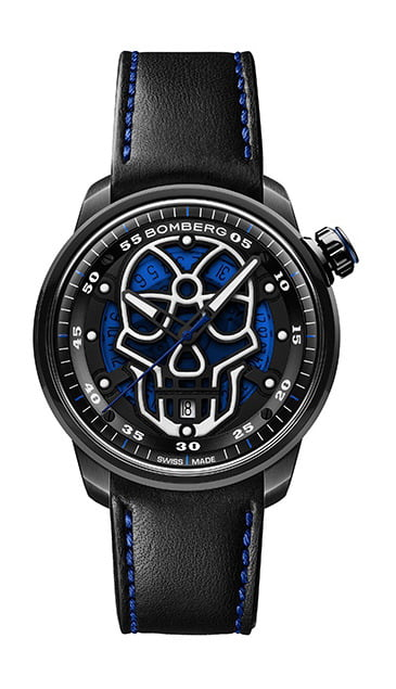 BB-01 AUTOMATIC BLUE SKULL