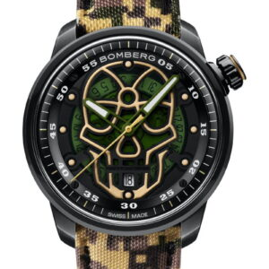 BB-01 AUTOMATIC MILITARY SKULL LIMITED EDITION