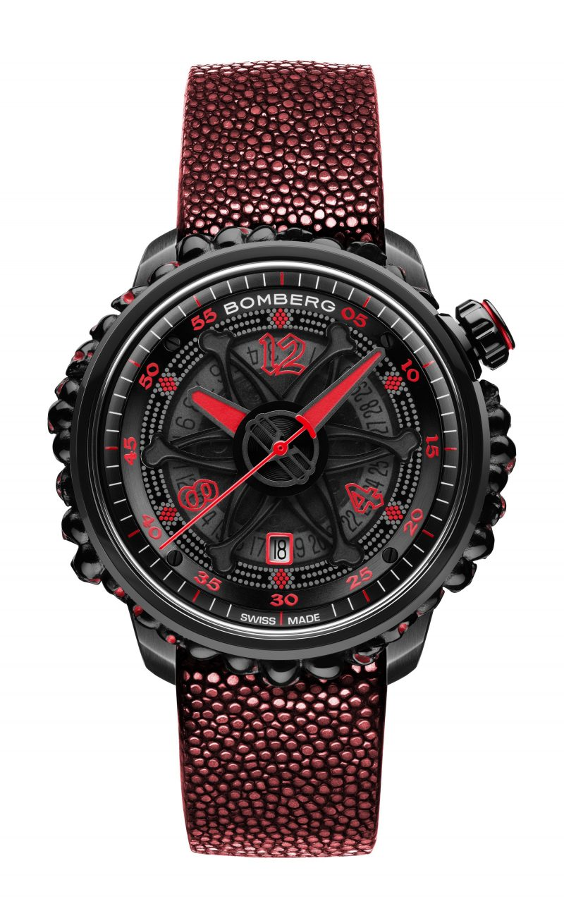 BB-01 AUTOMATIC RED CATACOMB LIMITED EDITION