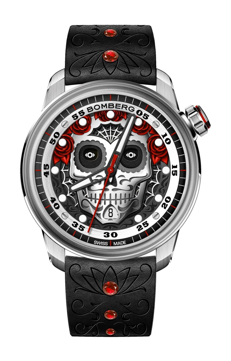 BB-01 AUTOMATIC MUERTOS SKULL LIMITED EDITION