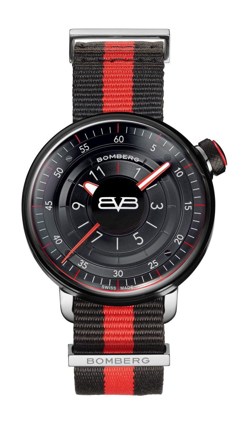 BB-01 BLACK & RED