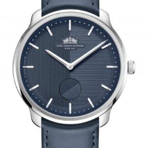 WALTZ N°1 Blue Danube  Blue Dial, Silver Case