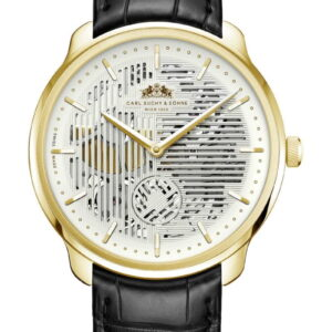 WALTZ N°1  Skeleton Gold, White Dial