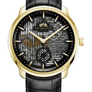 WALTZ N°1  Skeleton Gold, Black Dial
