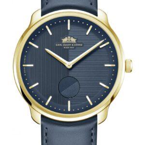WALTZ N°1  Gold, Blue Dial
