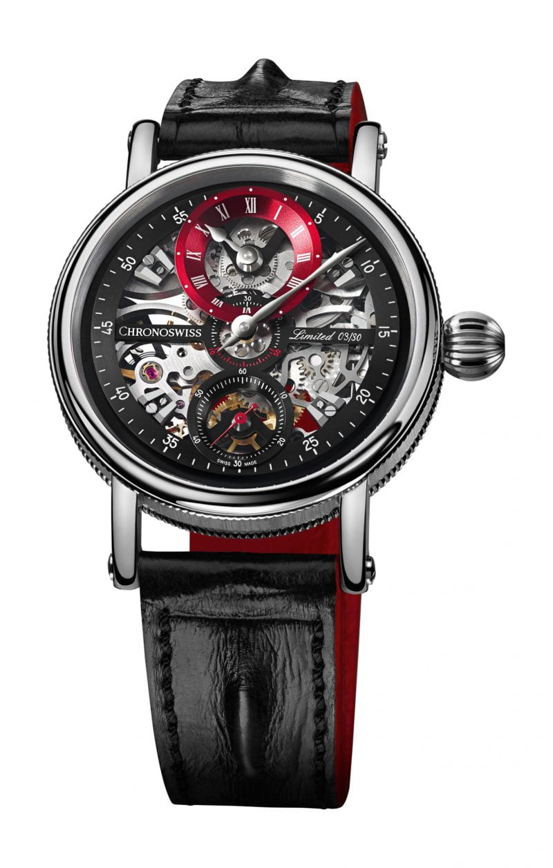 Flying Grand Regulator Skeleton