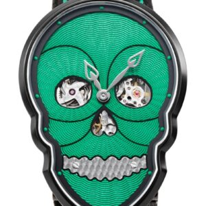 Petit Skull (Green/Black)