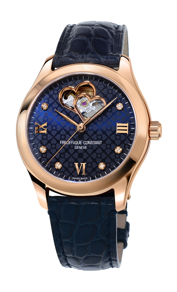 Ladies Automatic Double Heart Beat