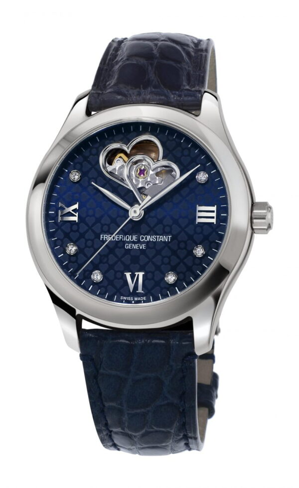 Classic Ladies Automatic Double Heart Beat